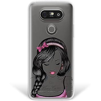 WoowCase Funda LG G5, [Hybrid] Dibujos Chica Tattoo Case ...