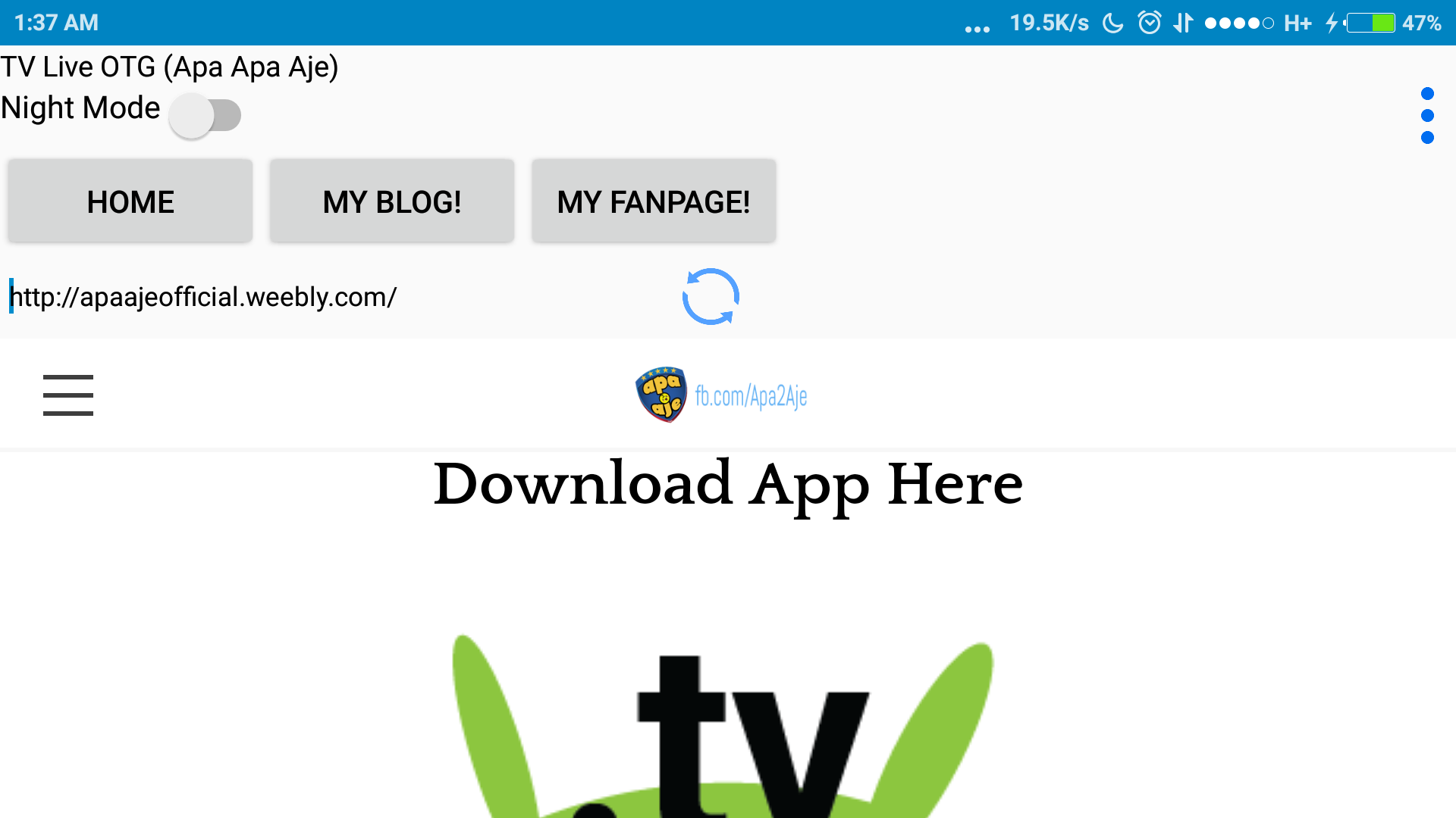 amazon com tv live otg apa aje appstore for android