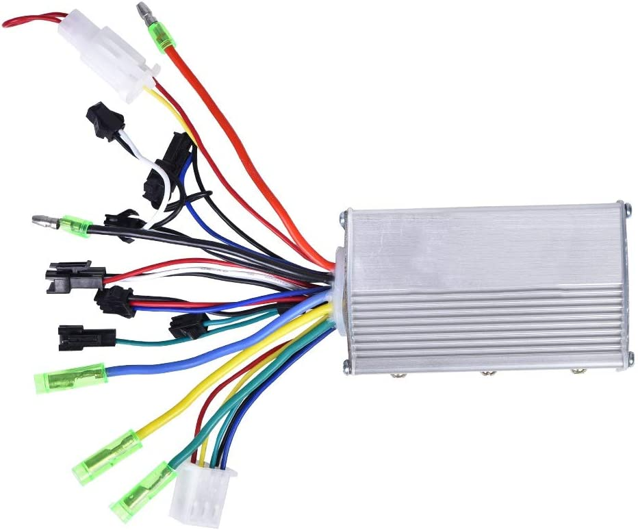 Starbun Controlador de Motor eléctrico - 24V 250W Controlador de Motor sin escobillas for Bicicleta eléctrica Vespa