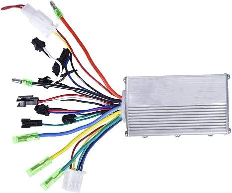 Starbun Controlador de Motor eléctrico - 24V 250W Controlador de ...