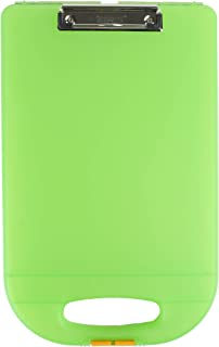 product image for Dexas Clipcase 2 Storage Clipboard with Rounded Handle, Lime Green