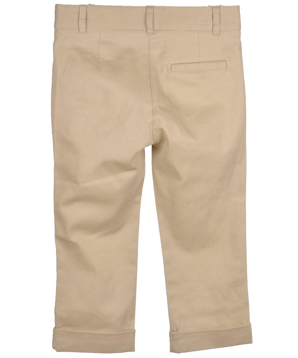 Nautica Little Girls' Flat Front Stretch Capri Pants