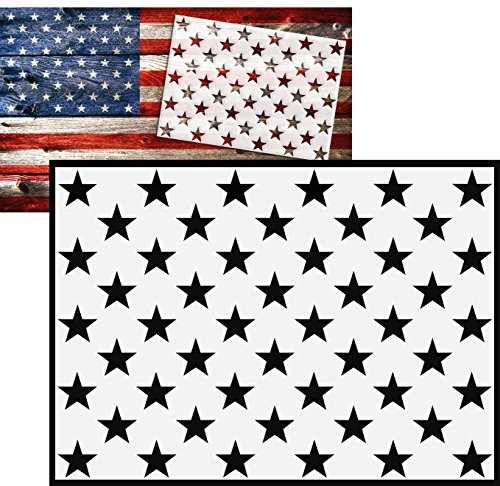 American-Flag-50-Star-Stencil-for-Painting-on-Wood-Paper-Fabric-Glass-and-Wall-Art