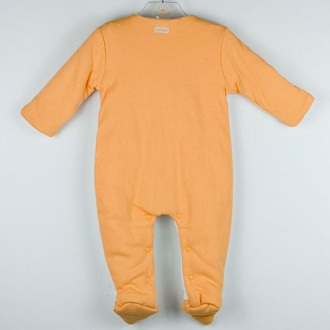 BABY-BOL - Pijama Bebe Acolchado bebé-niños Color: Naranja Talla: 1: Amazon.es: Ropa y accesorios