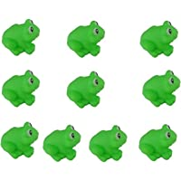 Funny Baby Rubber Bathtub Toys, Pack of 10 pcs Frogs