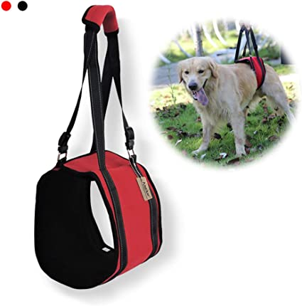 Dog Aid Assist Sling Lift Support Harness for Injuries Mobility With Weak Legs