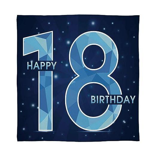 C COABALLA Manta Supersuave, decoración de 17 cumpleaños ...