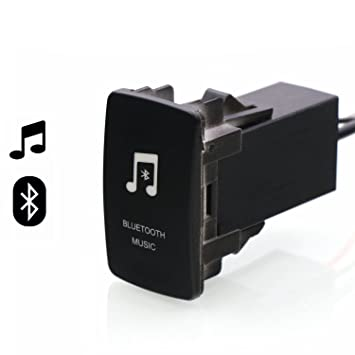 Car Bluetooth Music Adapter Module Panel Installation AUX Output Use for  Honda,Civic,Spirior,CRV,Fit