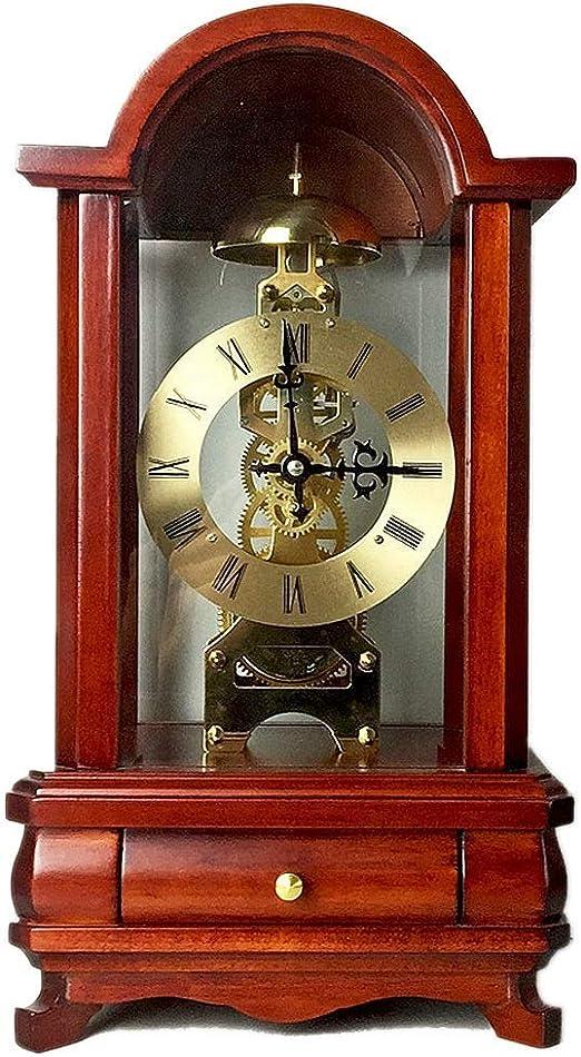 JBP max Reloj de jardín Soporte Reloj mecánico de la Bobina del Reloj de Movimiento de la Perspectiva Mecanismo de Reloj engranaje-JBP40: Amazon.es: Hogar