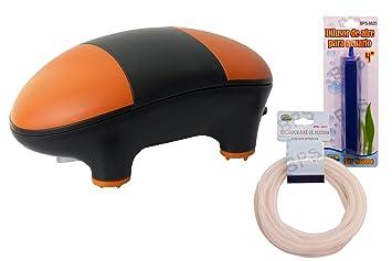 BPS (R Bomba Aire Oxigenador Compresor Incluye Manguera y difusor de Aire: Amazon.es: Hogar