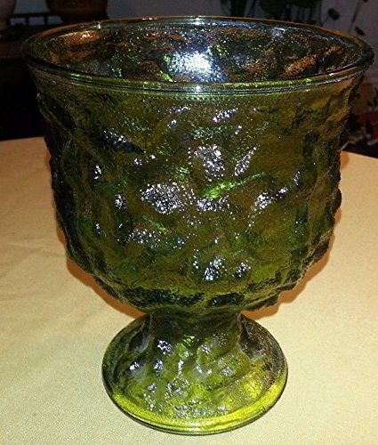 Amazon Vintage Eo Brody Co Green Glass 65 Textured Crinkle