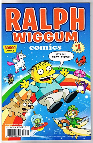 RALPH WIGGUM #1, NM-, Police child, Bart Simpson, Matt Groening, Bongo, 2012
