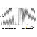 Stainless Steel Cooking Grid Replacement for Gas Grill Models Kenmore 146.16132110, 146.16133110, 146.1613211, 146.23678310, 146.23679310, 640-05057371-6, 640-05057373-6 and Backyard Classic BY13-101-001-12 Set of 3