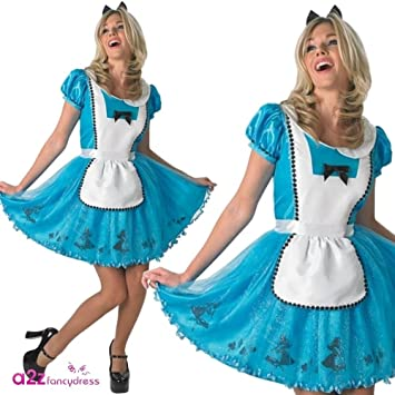 Rubies - Disfraz para Mujer de «Alicia en el país de Las ...