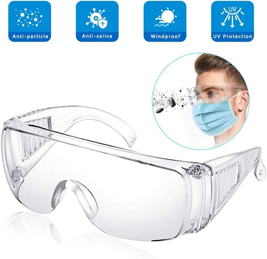 Gafas de Seguridad EPODA X-pect® 8110 antivaho para Trabajo, para construcción, Laboratorio, química, Uso Personal o Profesional