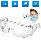 EPODA Gafas de seguridad con certificación ce para uso profesional con gafas
