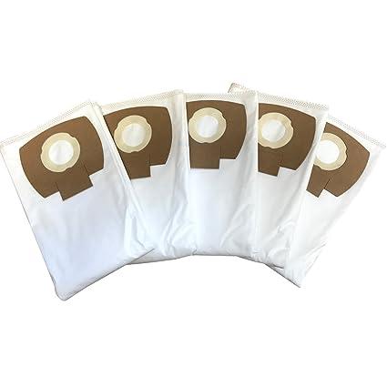 diversifié dans l'emballage publier des informations sur gamme exceptionnelle de styles 10 Sacs Filtre pour Serie wd6 - Kärcher WD 6 P Premium, mipuu 2.863-006.0  Sacs Aspirateur/Flies Kit de 333.0 de Microsafe en Non-Tissé ® …
