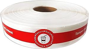 Safe Secure Tamper Evident Seals Stickers for Drink Lids 1
