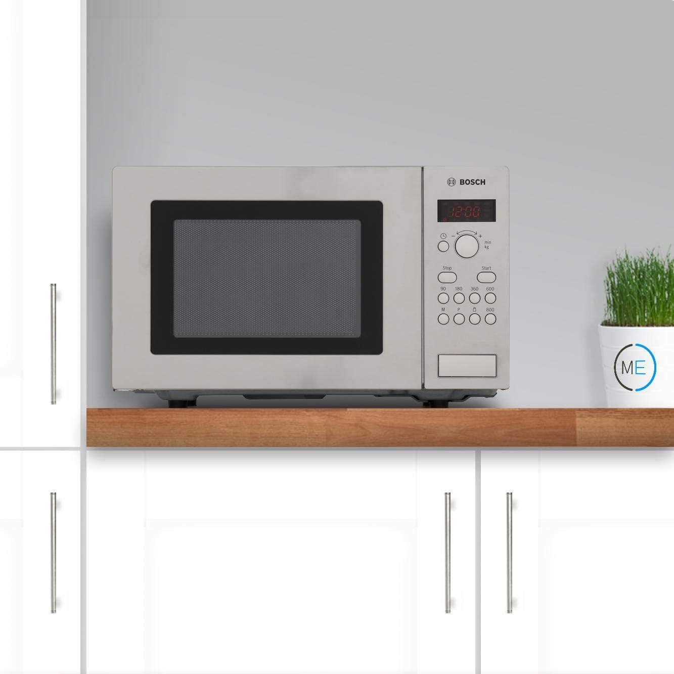 Bosch HMT75M451B, Acero inoxidable, 462 x 320 x 280 mm, LED ...