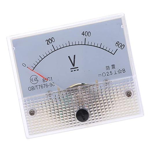 85c1 Dc Rectángulo Amperímetro AmPiezas de Automóvil Cortacésped ...