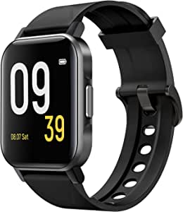 SoundPEATS Smart Watch 12 Sports Modes Compatible with iPhone Android Phones,Fitness Tracker Heart Rate Monitor Sleep Quality Tracker Call & Message Alert Swimming Waterproof Touch Screen New upgraded