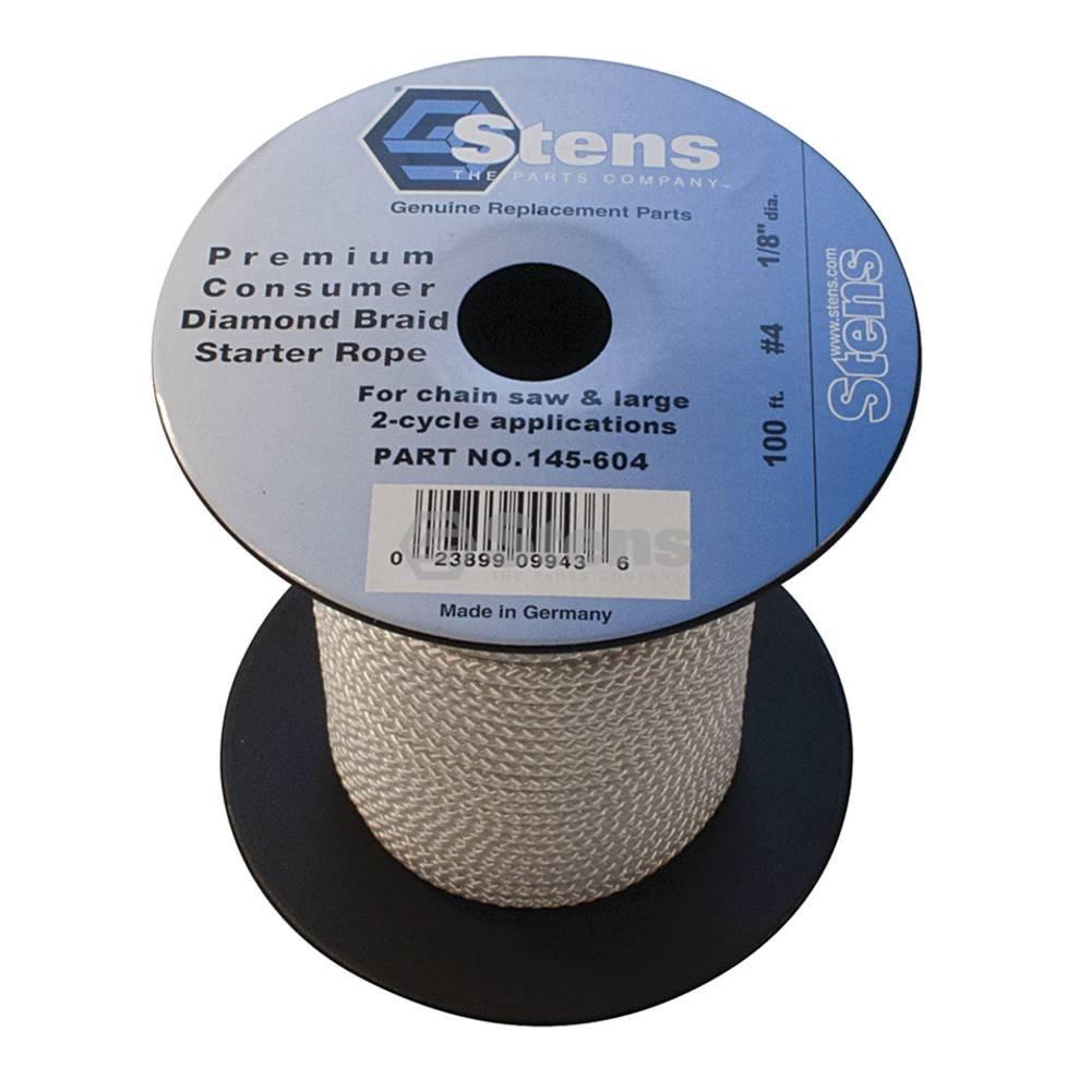 Stens 145-604 Diamond Braid Starter Rope, 100'