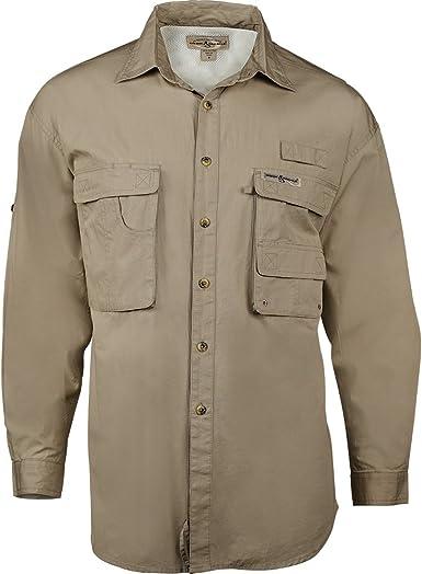 Hook & Tackle Gulf Stream 1013L Camisa de pesca para hombres de manga larga