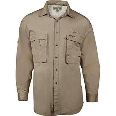 6ce04f4c Amazon.com: Hook & Tackle Men's Gulfstream Long Sleeve Shirt (Small ...