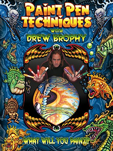Paint Pen Techniques with Drew Brophy (Skateboard Pen)