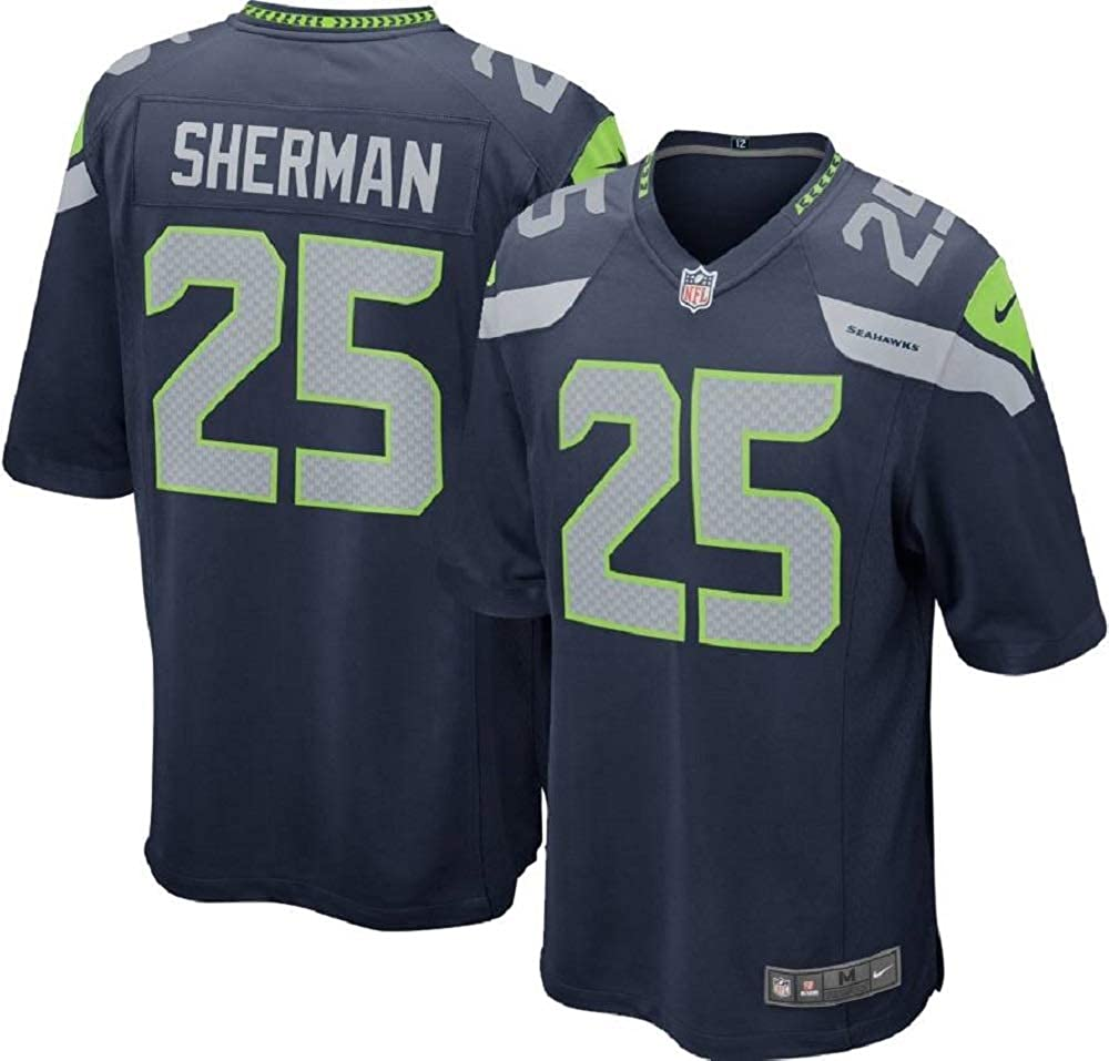 quality design 85485 7a5da Nike NFL Seattle Seahawks Richard Sherman Youth On-Field Jersey Size XL