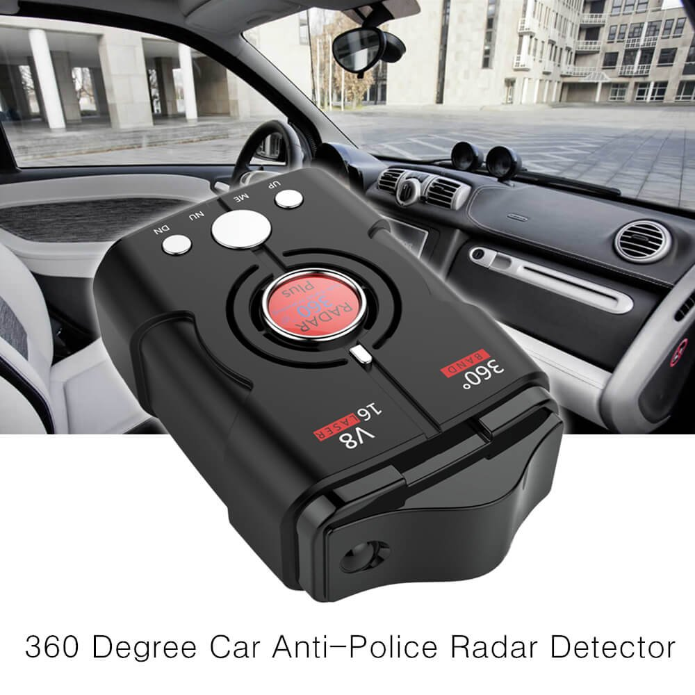 Radar Detectors for Cars, Voice Alert and Speed Alarm System with 360 Degree Detection, City/Highway Mode Radar Detector by AZGGN (Image #4)