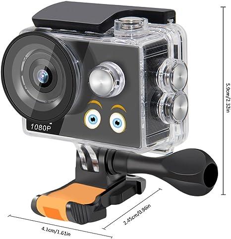 Niños cámara Digital cámara de vídeo cámara de acción HD DV impermeable de los deportes niños