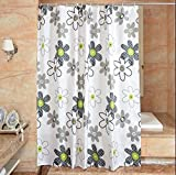 JaHGDU Shower Curtain 1pcs Floral Printing Shower Curtains Polyester Bathroom Amenities Opaque Mildewproof Thickened No Deformation Hotel Toilet Shade Super Quality (Color : 200200cm)