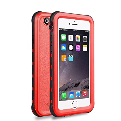 Amazon.com: Carcasa impermeable para iPhone 6/6S, cubierta ...
