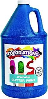 product image for Colorations-CGPGO Washable Glitter Paint, 16 fl oz, Gold, Non Toxic, Vibrant, Bold, Kids Paint, Craft, Hobby, Fun, Art Supplies