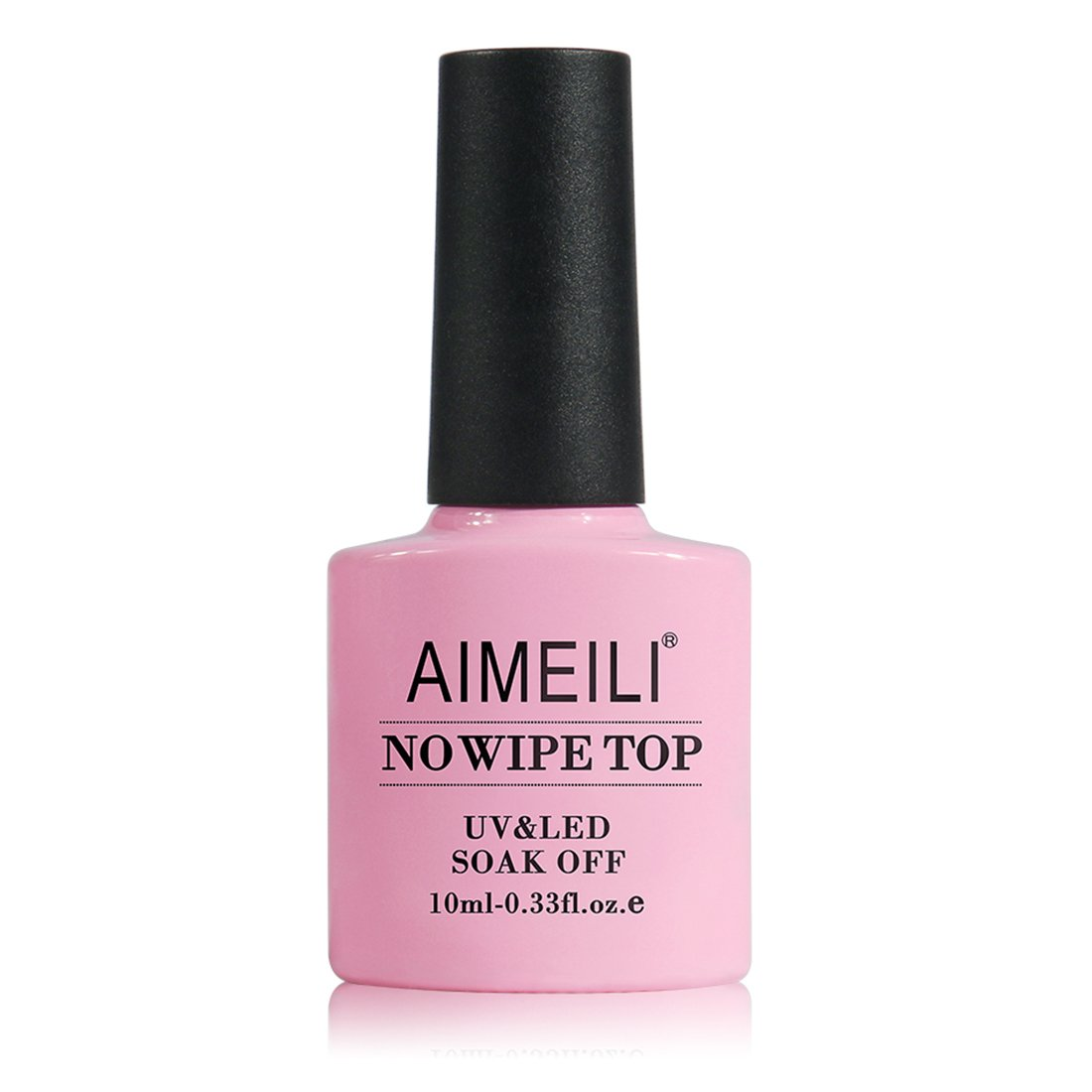 AIMEILI Esmalte De Uñas Soak Off UV LED Uñas De Gel - No Wipe Top Coat 10ml