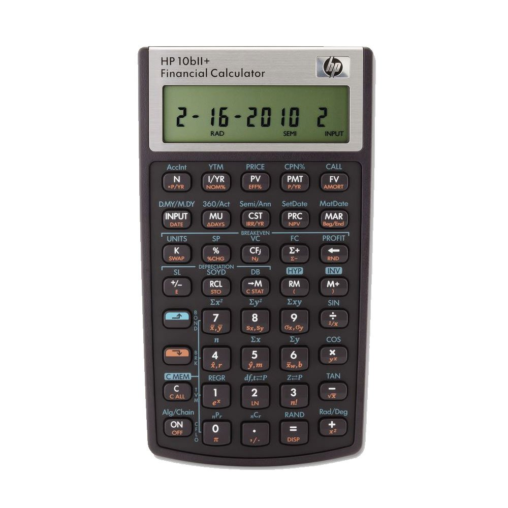 HP 10bII+ Financial Calculator (NW239AA) Pack of 2 by HP