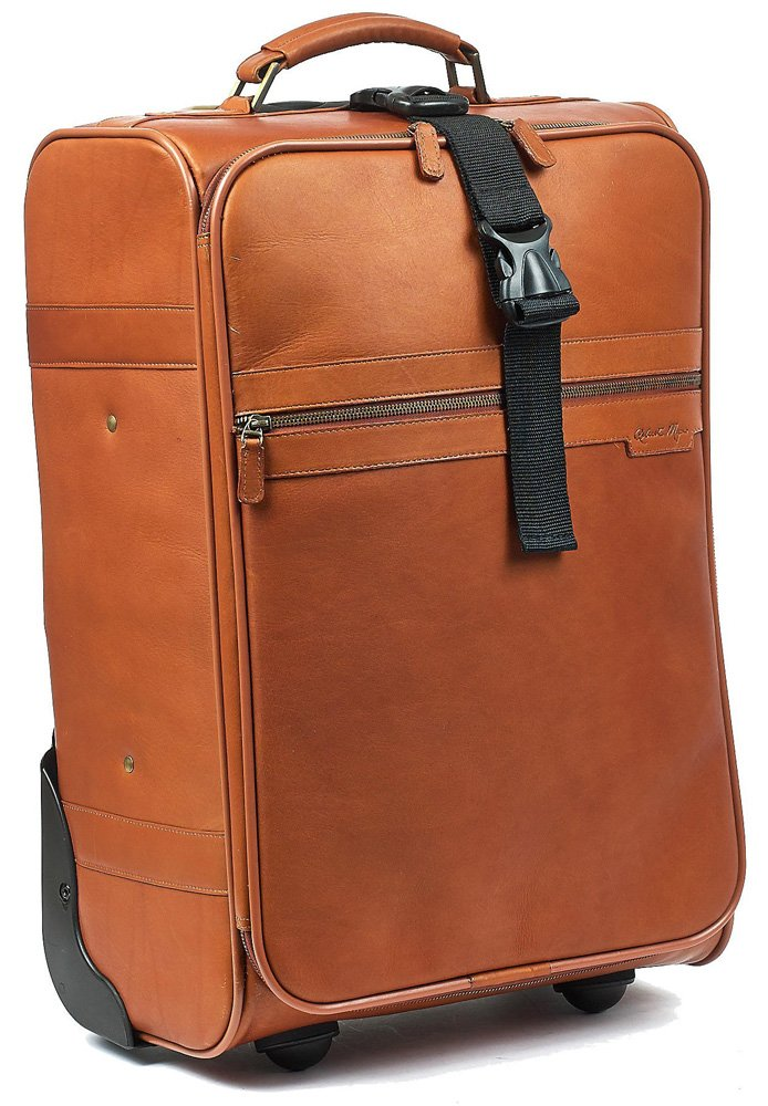 Classic 21'' Trolley Suitcase Color: Tan