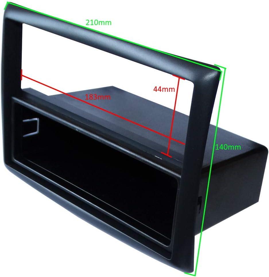 Adaptateur Autoradio Fa/çade Cadre R/éducteur 1DIN pour auto voiture Aerzetix