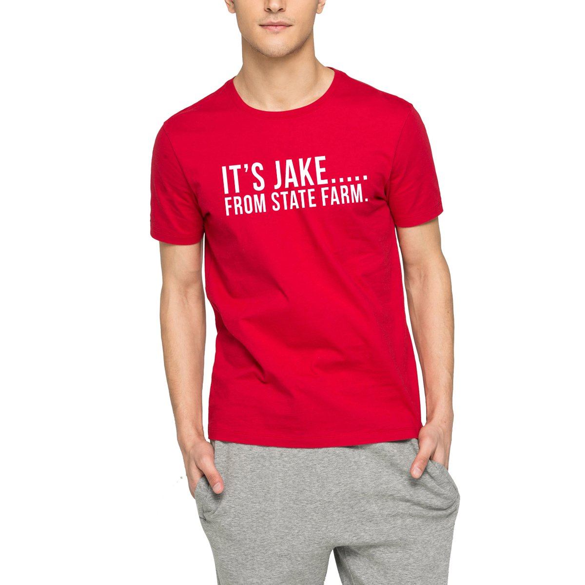 Loo Show S It S Jake From State Farm Funny Commercial S T Shirt Tee