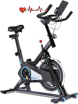 Profun Bicicleta Estática de Spinning Profesional, Ajustable ...