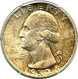 1932 S Washington Quarters (1932-98) Quarter MS64 PCGS+\CAC