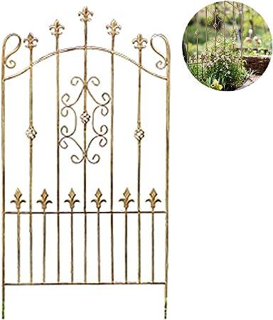 XLSQW Jardín Enrejado para Plantas trepadoras, Robusta de Hierro Enrejado Plantas Metal Soporte Enrejado, para Subir a Rose vehículo Vid Flor de la Hiedra de UVA Clematis: Amazon.es: Hogar