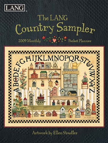 The LANG Country Sampler 2009 Monthly Pocket Planner