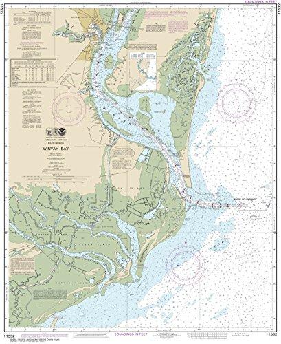 (MapHouse NOAA Chart 11532 Winyah Bay: 36.4