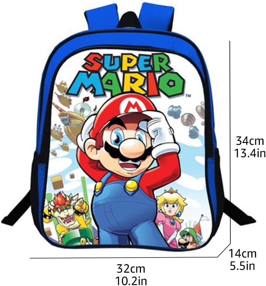 Wadaland Sacs /à dos /à motif Super Mario pour enfants//adolescents//adultes 02 taille unique