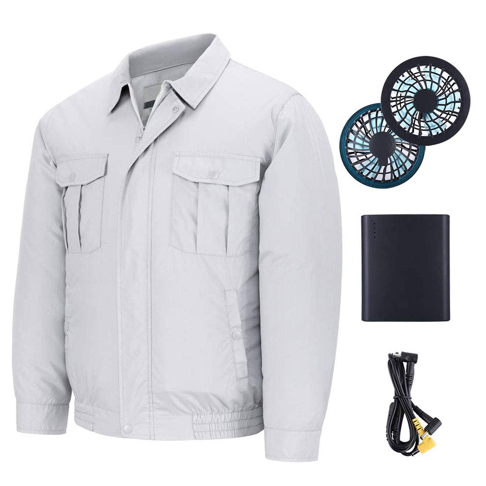 Jacket With Fan
