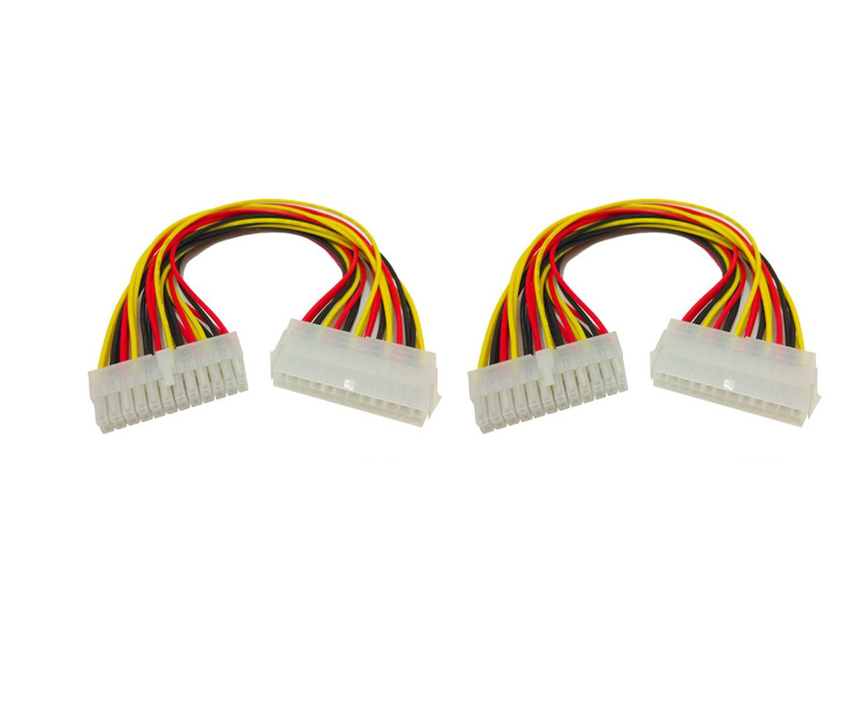 LTD Antrader 2 Pack ATX 24 Pin Female to Small 24 Pin Male Connector Power Adapter Cable Guangzhou Openfind Electronic Commerce CO