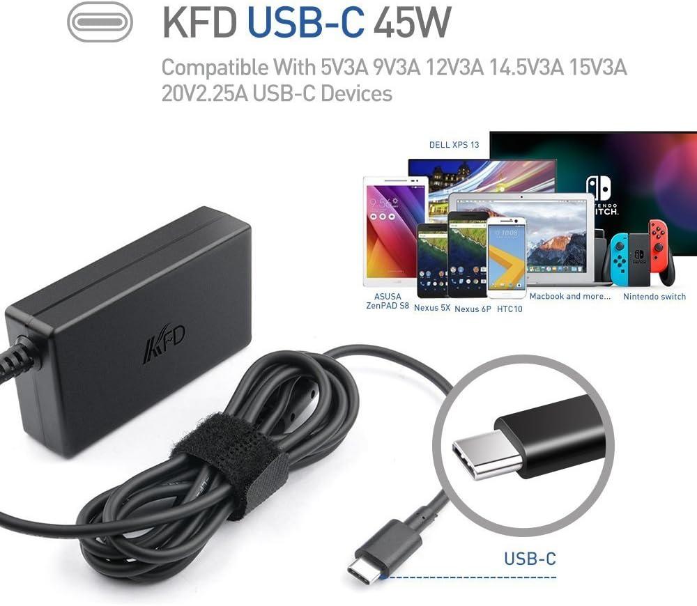 NUOVO 45W Laptop Caricabatterie per Lenovo ADLX45YCC3A Adattatore Alimentatore REGNO UNITO SPEDIZIONE