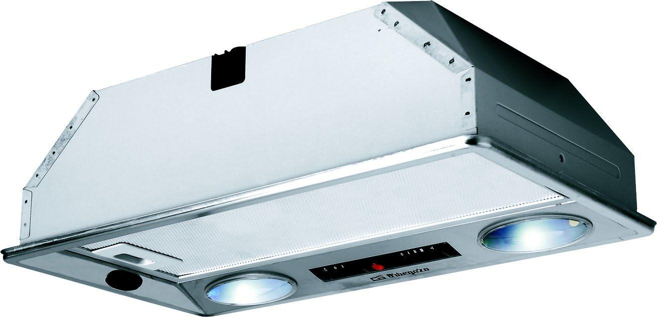 Orbegozo 14328 CA 07260 IN-Campana Cassette, INOX, 2 Motores de 120 W, 40 W, 3 Velocidades, Acero inoxidable: Amazon.es: Hogar